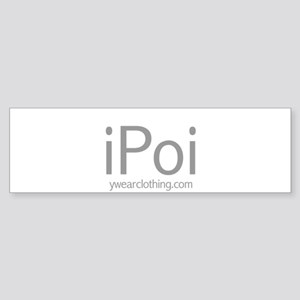 iPoi Bumper Sticker