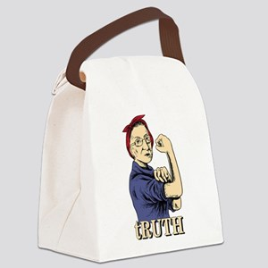 RBG Ruth Ginsburg Supreme Court F Canvas Lunch Bag