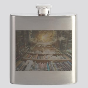 Library In the Sky Flask