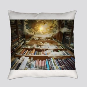 Library In the Sky Everyday Pillow