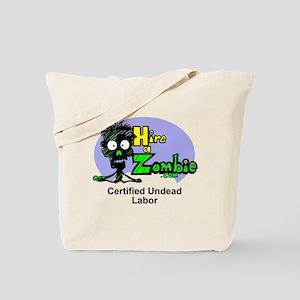 Funny Zombie Undead Labor Job Tote Bag