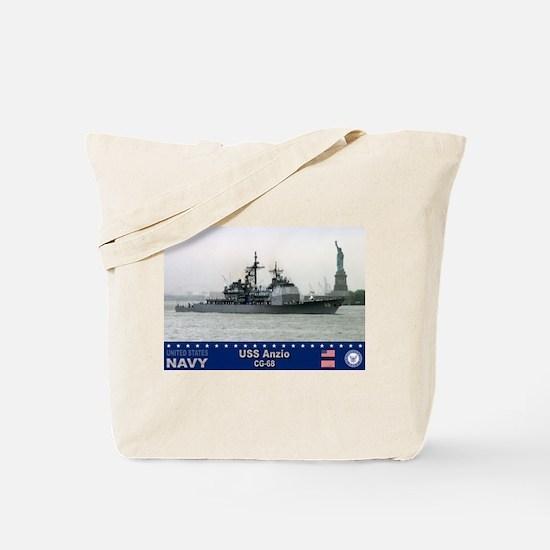 USS Anzio CG-68 Tote Bag