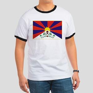 Flag of Tibet Ringer T