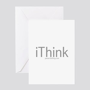 iThink Greeting Card