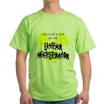 Survived Linear Accelerator Green T-Shirt