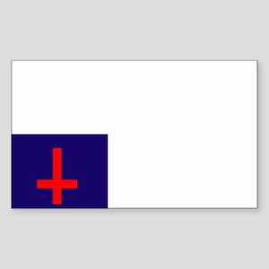 Un-Christian Flag Rectangle Sticker