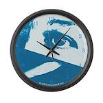 Chain Eye Large Wall Clock