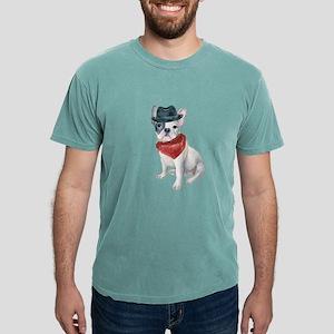 Frenchie French Bulldog Gangster Hat Banda T-Shirt