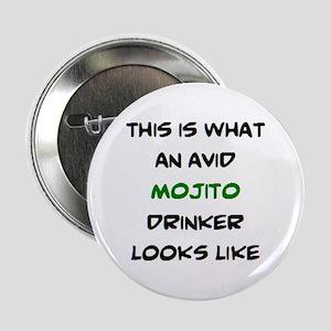 """avid mojito drinker 2.25"""" Button"""