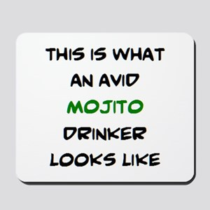avid mojito drinker Mousepad