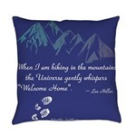 Hiking Mountains Universe Everyday Pillow