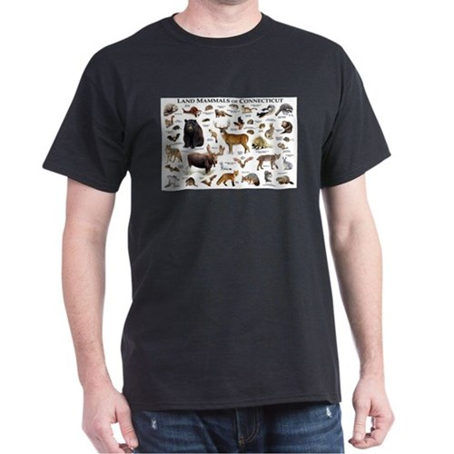 Land Mammals of Connecticut T-Shirt