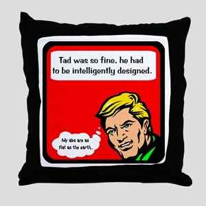 Intelligent Design Throw Pillow