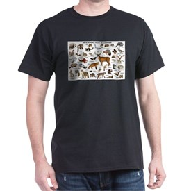 Mammals of Illinois T-Shirt