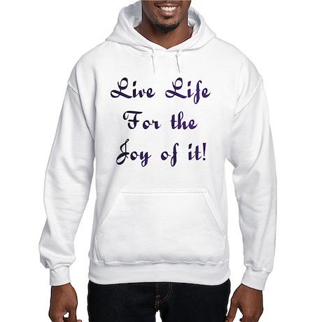 Life Live Design #28 Hooded Sweatshirt