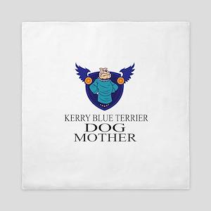 Kerry Blue Terrier Dog Mother Queen Duvet