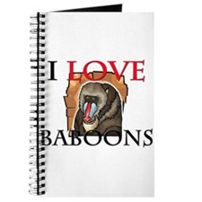 I Love Baboons Journal