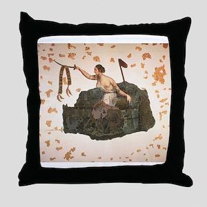 San Jacinto Battle Flag Throw Pillow