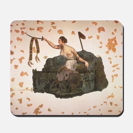 San Jacinto Battle Flag Mousepad