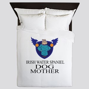 Irish Water Spaniel Dog Mother Queen Duvet
