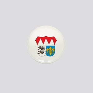 wurzburg city Mini Button