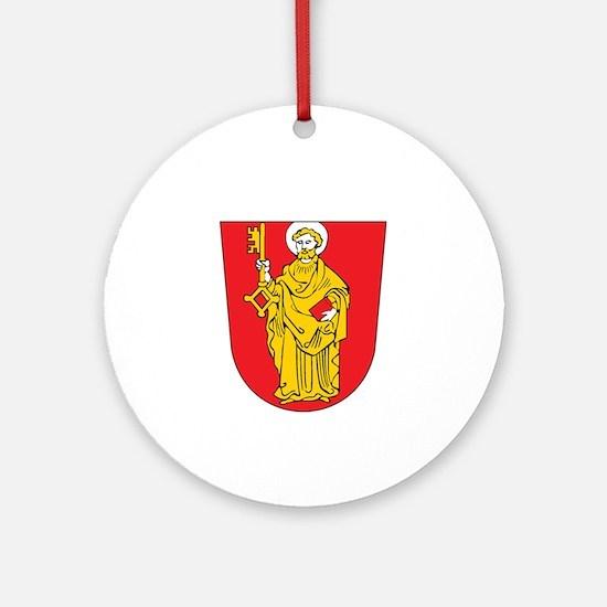 trier Ornament (Round)