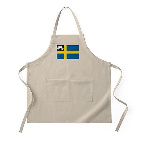 Music Pirate Swedish Flag BBQ Apron