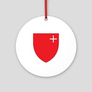 schwyz region Ornament (Round)