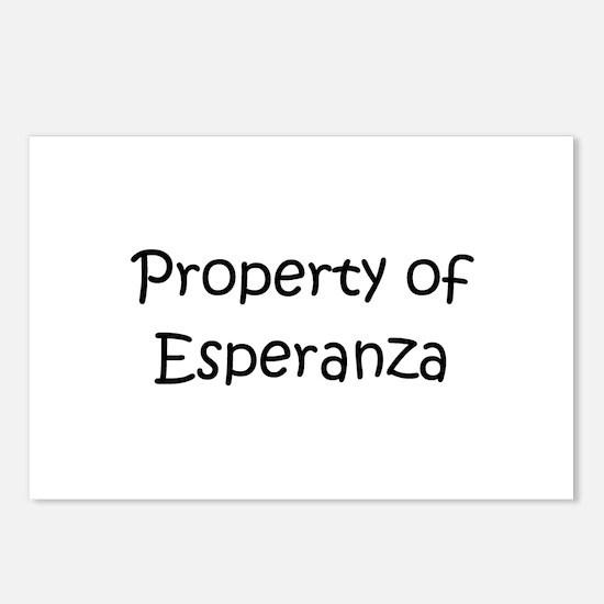 Funny Esperanza Postcards (Package of 8)