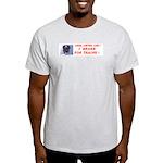 I Brake For Trains Light T-Shirt