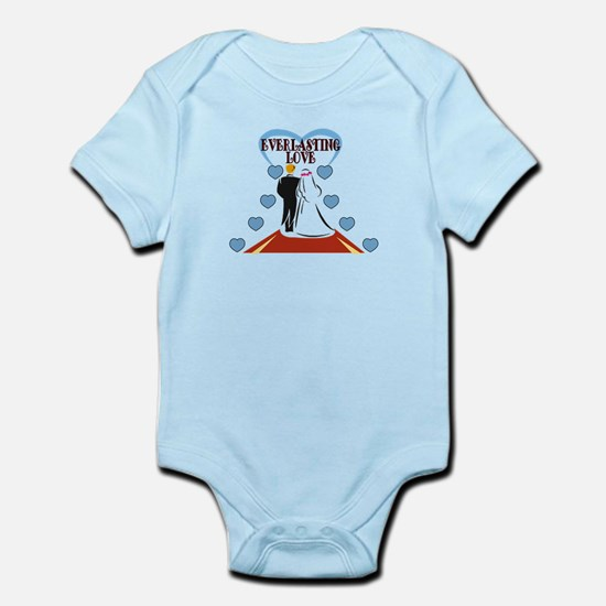 We're Married Infant Bodysuit