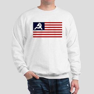 Soviet America Flag Sweatshirt