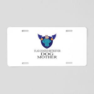 Flat-Coated Retriever Dog M Aluminum License Plate