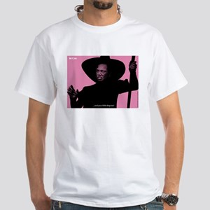 iCon (Impertinent Pink) White T-Shirt