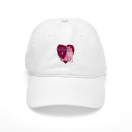 Pink Ribbon Huskys Cap