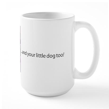 iCon (Malicious Mauve) Large Mug