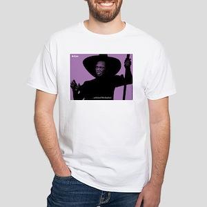 iCon (Malicious Mauve) White T-Shirt