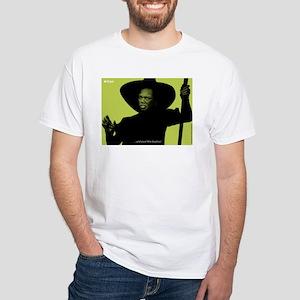 iCon (Lurid Lime) White T-Shirt