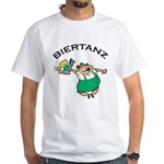 Biertanz Oktoberfest White T-Shirt