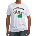 Biertanz Oktoberfest Fitted T-Shirt