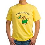 Biertanz Oktoberfest Yellow T-Shirt