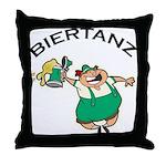 Biertanz Oktoberfest Throw Pillow