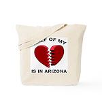 Heart In Arizona Tote Bag