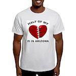 Heart In Arizona Ash Grey T-Shirt