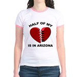 Heart In Arizona Jr. Ringer T-Shirt