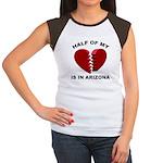 Heart In Arizona Women's Cap Sleeve T-Shirt
