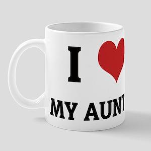 I Love My Auntie Mug