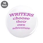 "Choose adventure 3.5"" Button (10 pack)"