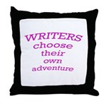 Choose adventure Throw Pillow