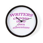 Choose adventure Wall Clock